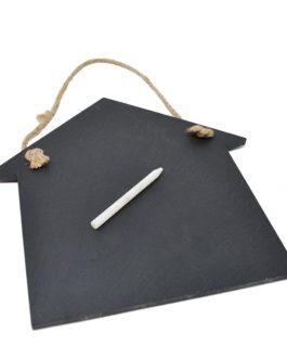 tabelau ardoise et crayon maison