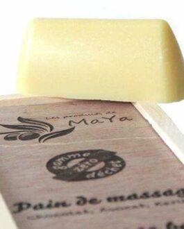 les produits de maya pain de massage glup bébé lachine