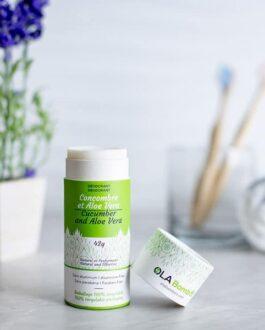 Déodorant naturel Concombre et Aloe vera-Glup bébé Lachine
