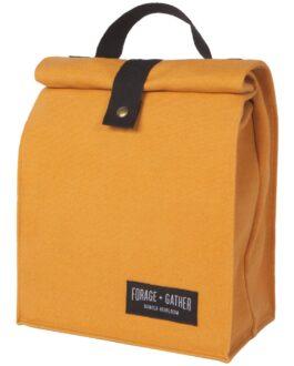 forage gather lunch bag ochre